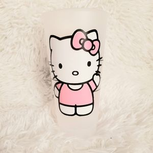Starbucks cold cup HELLO KITTY